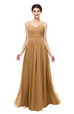 ColsBM Bryn Doe Bridesmaid Dresses Floor Length Sash Sleeveless Simple A-line Criss-cross Straps