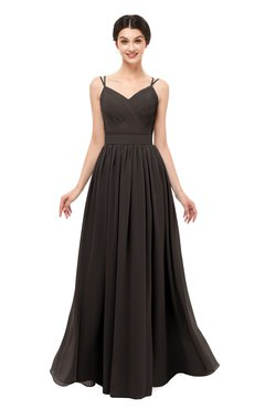 ColsBM Bryn Java Bridesmaid Dresses Floor Length Sash Sleeveless Simple A-line Criss-cross Straps