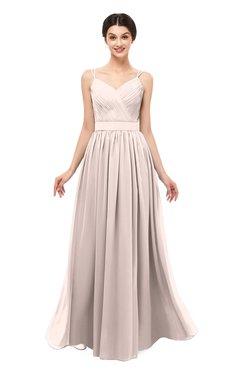 ColsBM Bryn Silver Peony Bridesmaid Dresses Floor Length Sash Sleeveless Simple A-line Criss-cross Straps