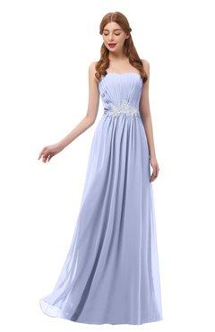 77565fbc4898 ColsBM Jess Lavender Bridesmaid Dresses Sleeveless Appliques Strapless A- line Zipper Modern