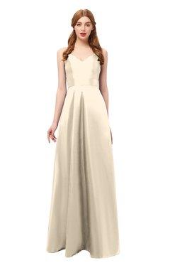 26ade83ab7e ColsBM Aubrey Cornhusk Bridesmaid Dresses V-neck Sleeveless A-line  Criss-cross Straps