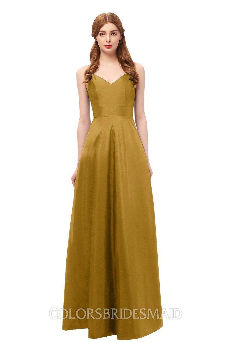 ColsBM Aubrey Harvest Gold Bridesmaid