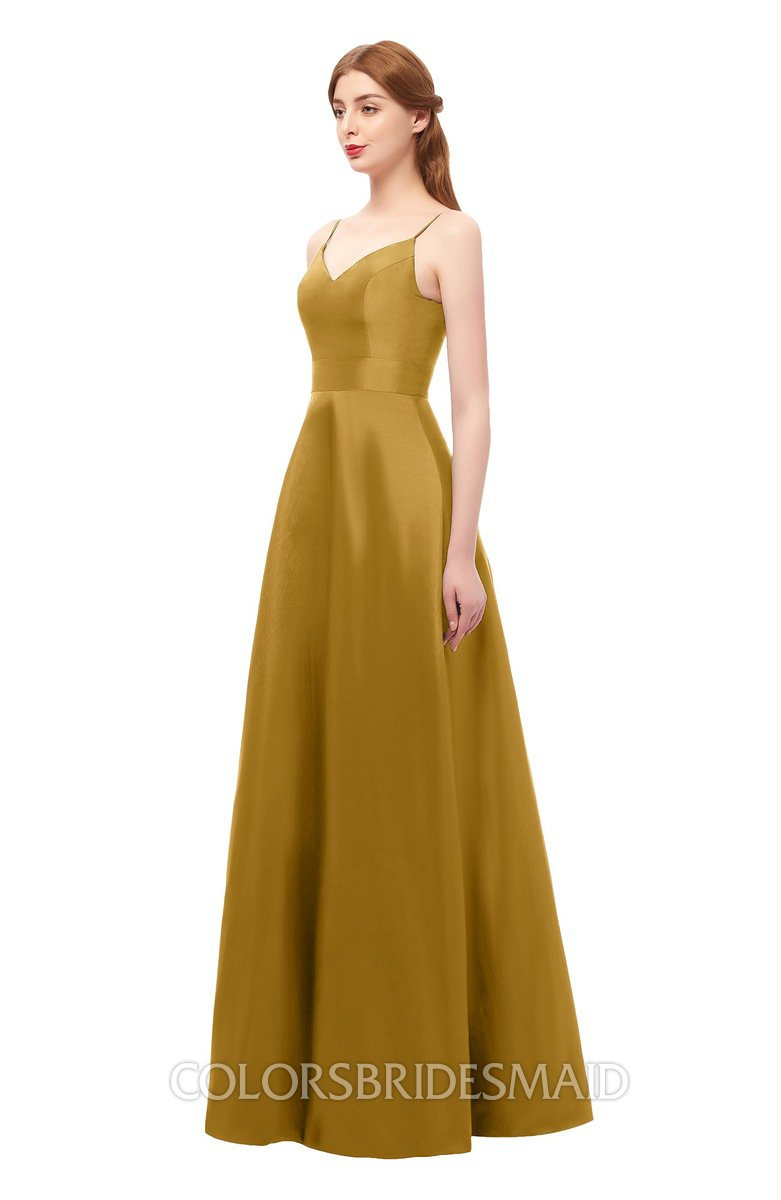 ColsBM Aubrey Harvest Gold Bridesmaid