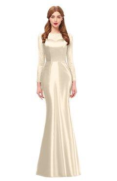 5c3080b3adf ColsBM Kenzie Cornhusk Bridesmaid Dresses Trumpet Lace Bateau Long Sleeve  Floor Length Mature