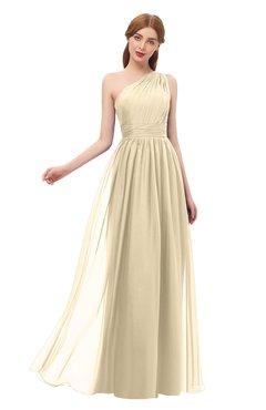 ColsBM Kendal Navajo Bridesmaid Dresses A-line Sleeveless Half Backless Pleated Elegant One Shoulder
