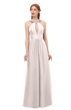 1d8db05669455 ColsBM Jayda Light Pink Bridesmaid Dresses Zipper Halter Glamorous  Sleeveless Crystals Floor Length