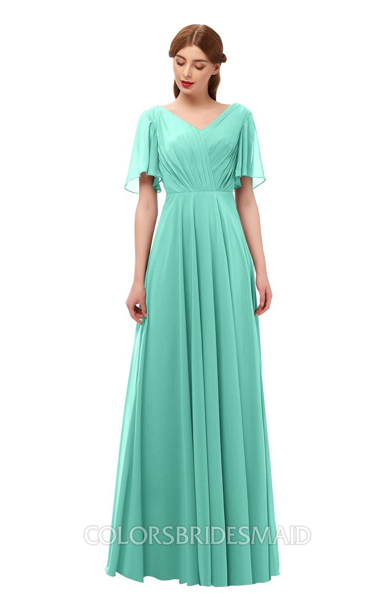 Colsbm Storm Mint Green Bridesmaid Dresses Colorsbridesmaid