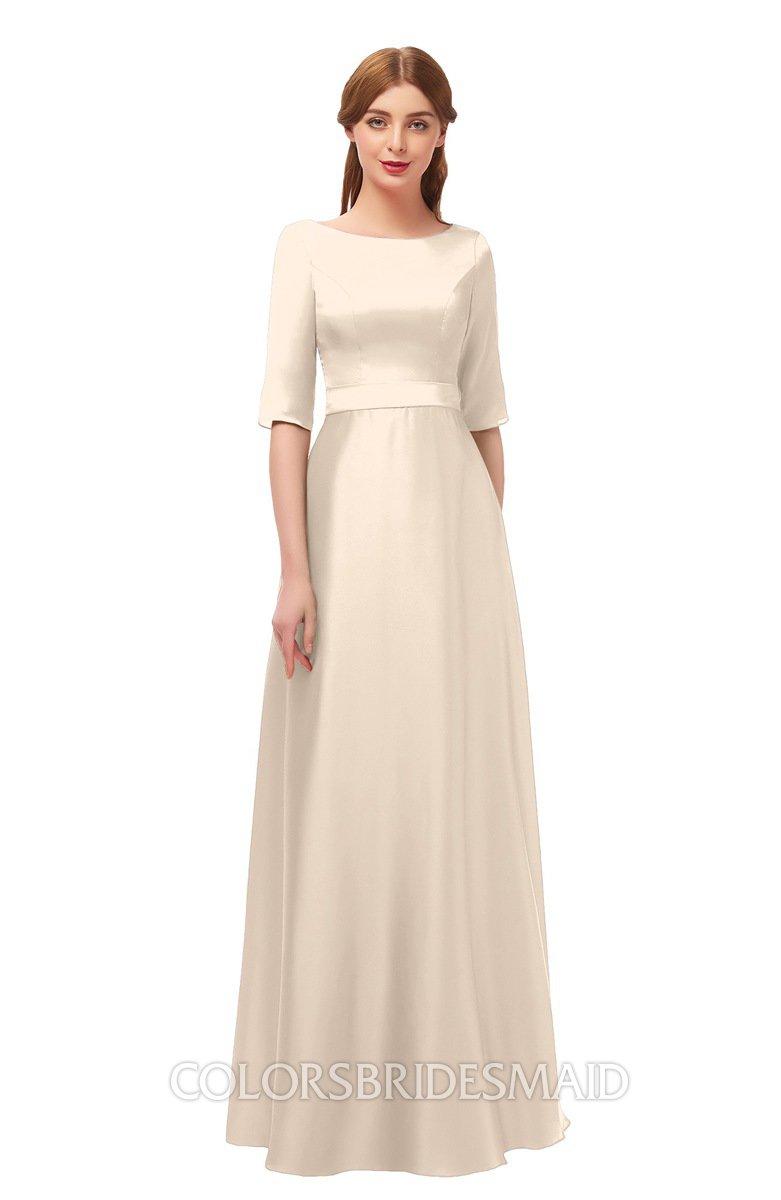 Linen Wedding Dress.Colsbm Silver Linen Bridesmaid Dresses