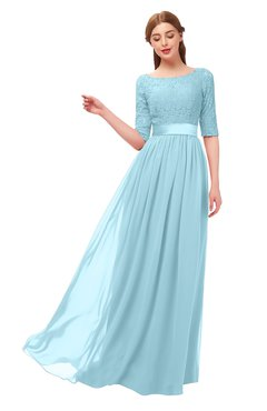 Turquoise Aqua Blue Bridesmaid Dresses