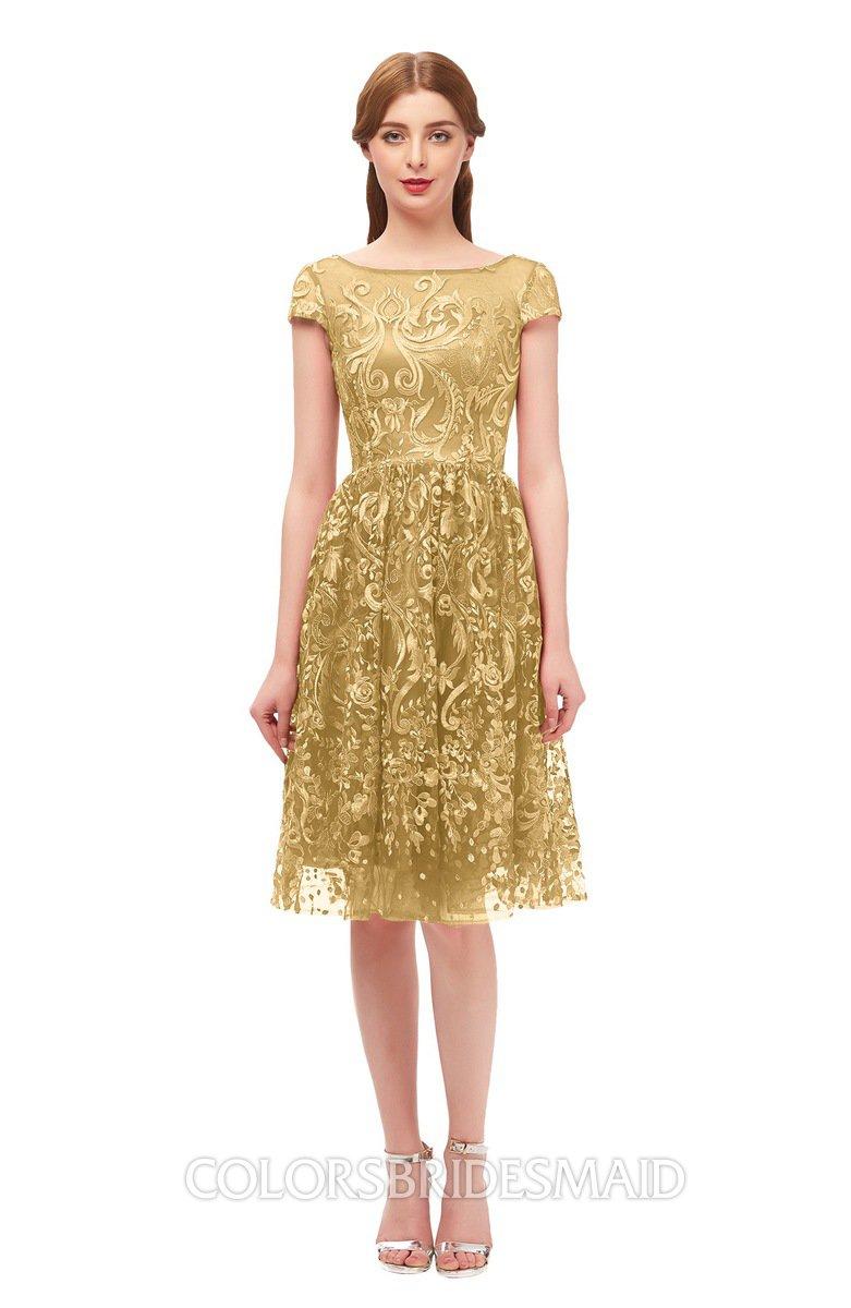 Colsbm Arlie Gold Bridesmaid Dresses