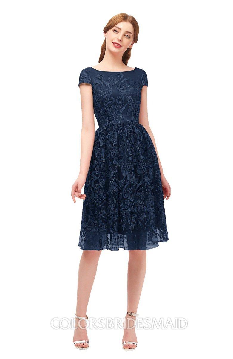 Colsbm Arlie Navy Blue Bridesmaid Dresses
