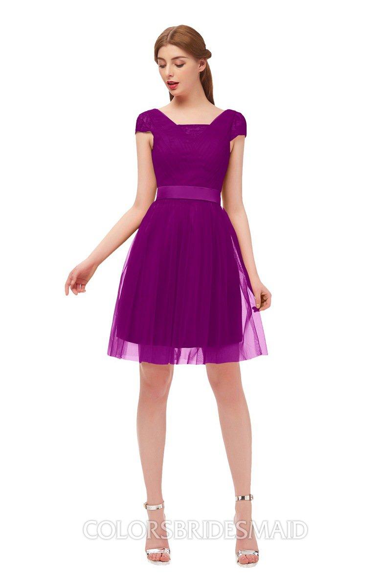 Colsbm Izzy Purple Wine Bridesmaid Dresses