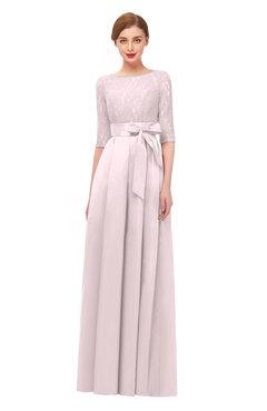 ColsBM Aisha Blush Bridesmaid Dresses Sash A-line Floor Length Mature Sabrina Zipper
