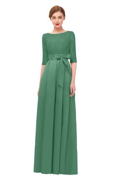 ColsBM Aisha Feldspar Bridesmaid Dresses Sash A-line Floor Length Mature Sabrina Zipper