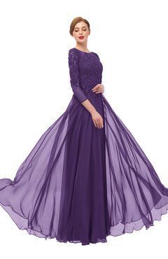534e16f7b29 ColsBM Dixie Petunia Bridesmaid Dresses Lace Zip up Mature Floor Length  Bateau Three-fourths Length