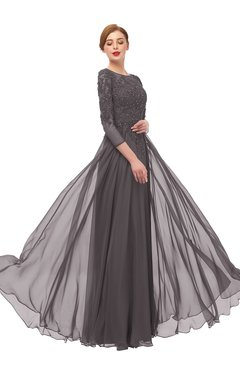 ColsBM Dixie Sparrow Bridesmaid Dresses Lace Zip up Mature Floor Length Bateau Three-fourths Length Sleeve
