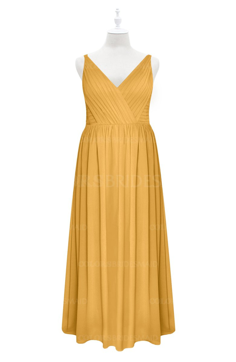 ColsBM Tinley - Golden Cream Plus Size Bridesmaid Dresses