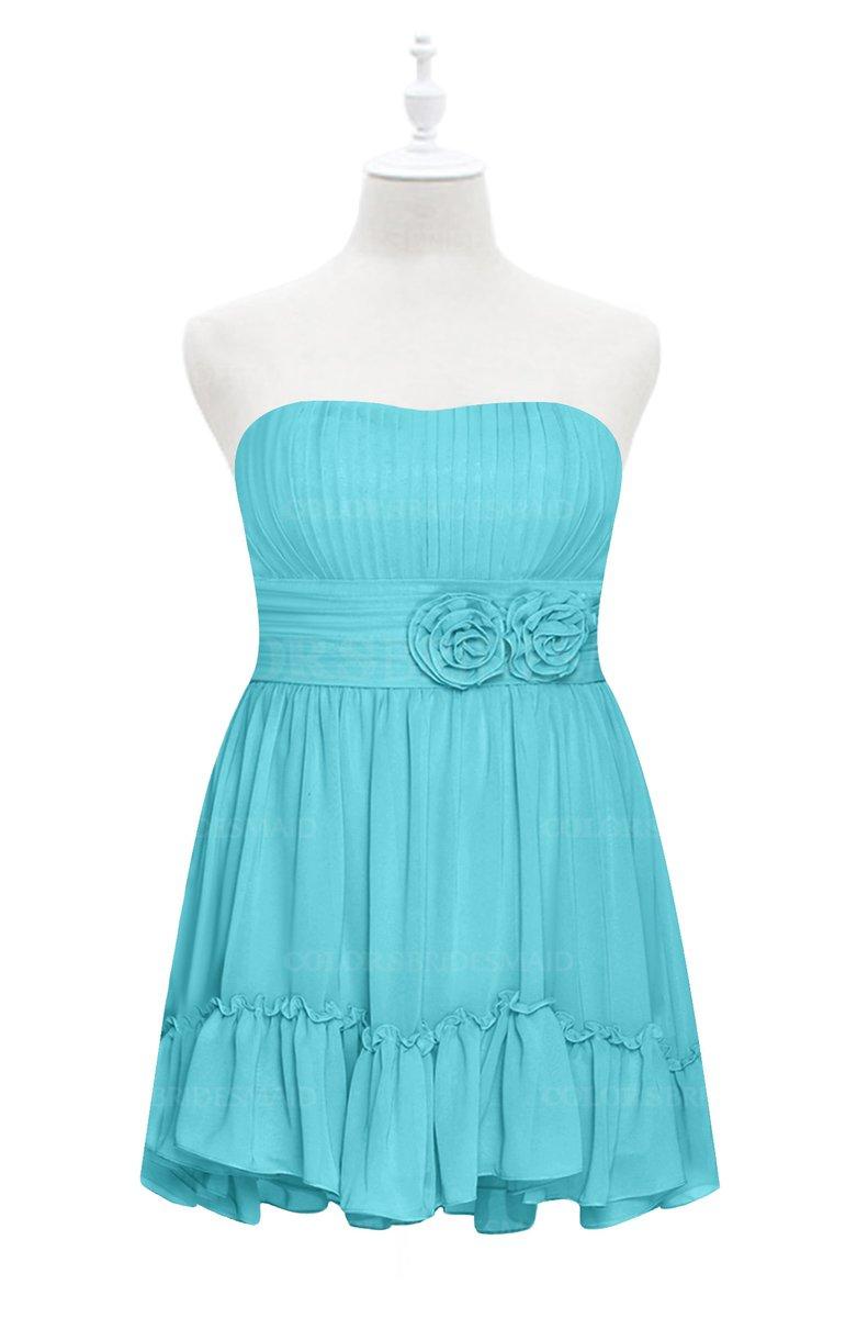 Colsbm Paityn Turquoise Plus Size Bridesmaid Dresses Colorsbridesmaid