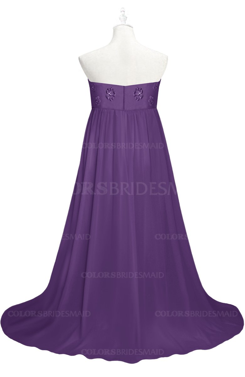 ColsBM Milania - Dark Purple Plus Size Bridesmaid Dresses