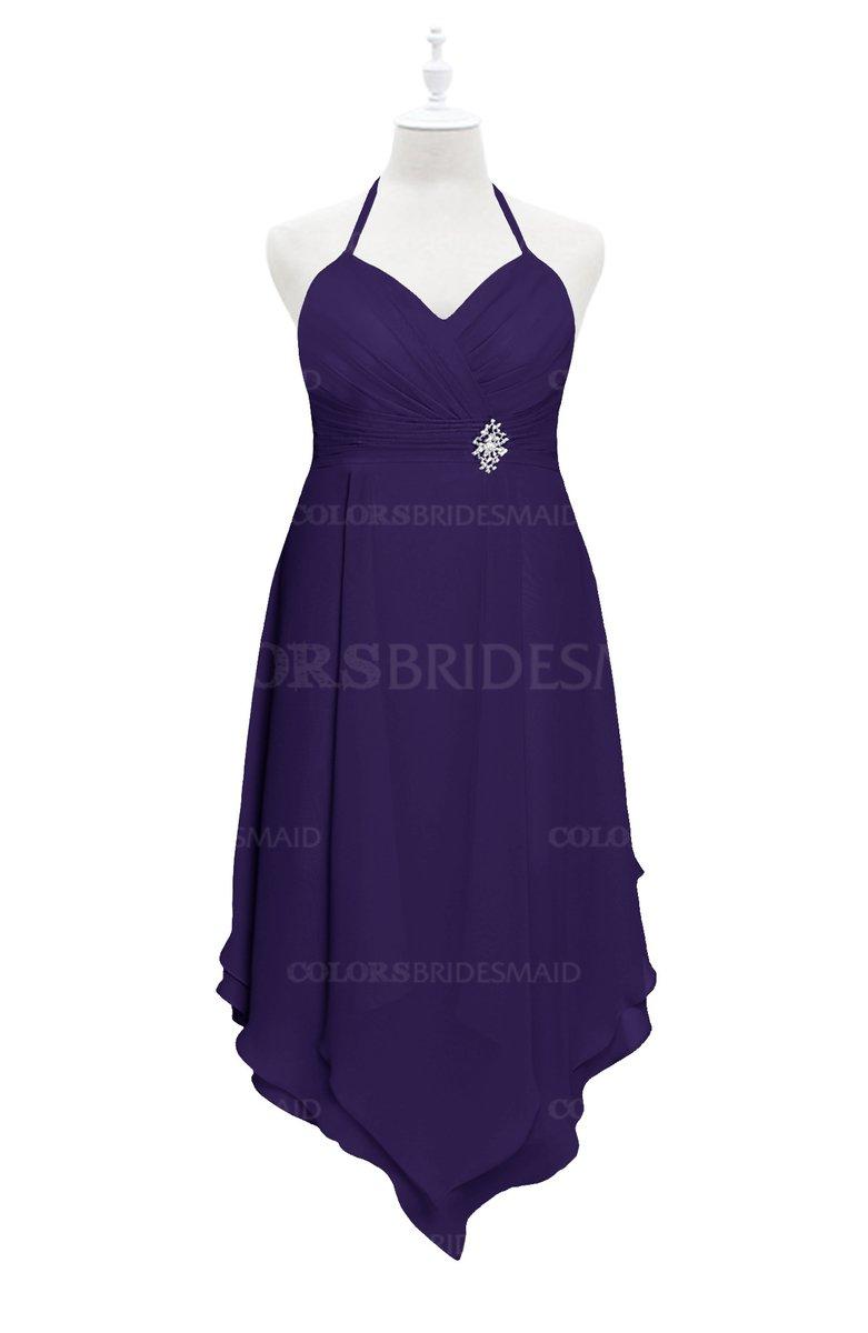 ColsBM Remi - Royal Purple Plus Size Bridesmaid Dresses
