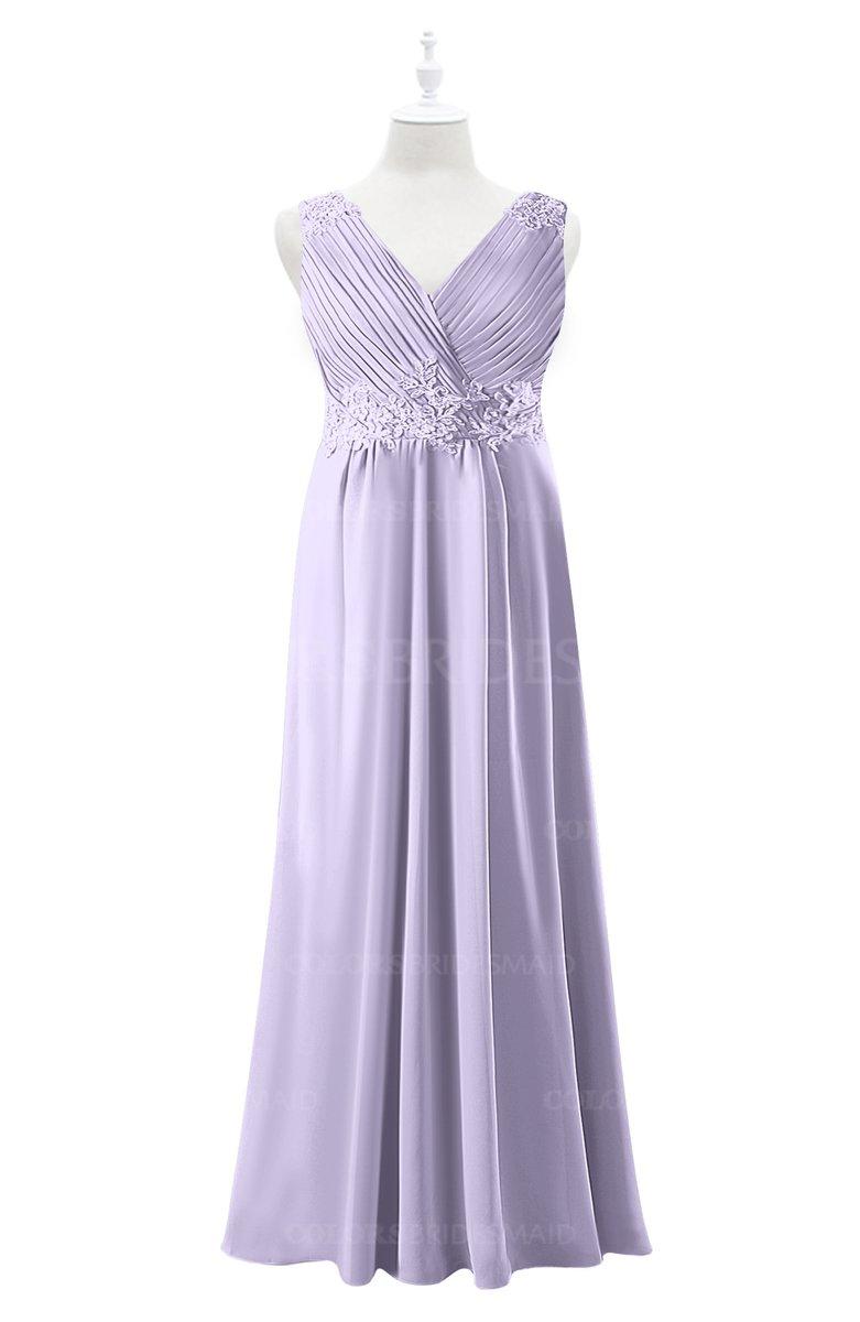ColsBM Malaysia - Light Purple Plus Size Bridesmaid Dresses