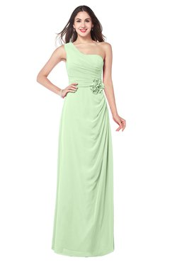 ColsBM Selby Seacrest Bridesmaid Dresses Floor Length Sheath Flower Zip up Modern Sleeveless