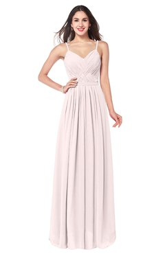 ColsBM Kinley Angel Wing Bridesmaid Dresses Sleeveless Sexy Half Backless Pleated A-line Floor Length