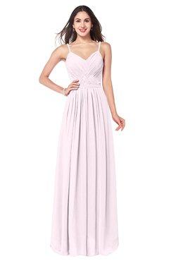 ColsBM Kinley Blush Bridesmaid Dresses Sleeveless Sexy Half Backless Pleated A-line Floor Length