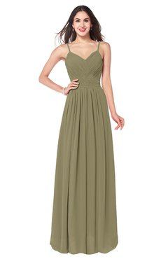 ColsBM Kinley Boa Bridesmaid Dresses Sleeveless Sexy Half Backless Pleated A-line Floor Length