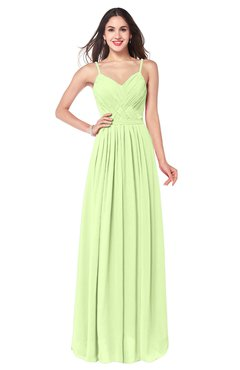 ColsBM Kinley Butterfly Bridesmaid Dresses Sleeveless Sexy Half Backless Pleated A-line Floor Length