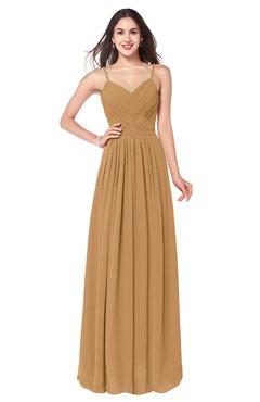 ColsBM Kinley Doe Bridesmaid Dresses Sleeveless Sexy Half Backless Pleated A-line Floor Length