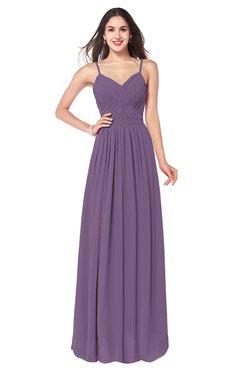 ColsBM Kinley Eggplant Bridesmaid Dresses Sleeveless Sexy Half Backless  Pleated A-line Floor Length 8f36704f31ea