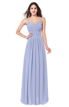 ColsBM Kinley Lavender Bridesmaid Dresses Sleeveless Sexy Half Backless Pleated A-line Floor Length
