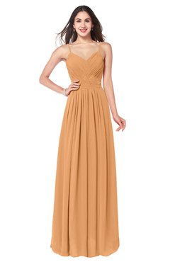 ColsBM Kinley Pheasant Bridesmaid Dresses Sleeveless Sexy Half Backless Pleated A-line Floor Length
