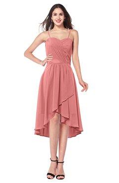 ColsBM Lavern Lantana Bridesmaid Dresses Sleeveless Asymmetric Ruching A-line Elegant Sweetheart