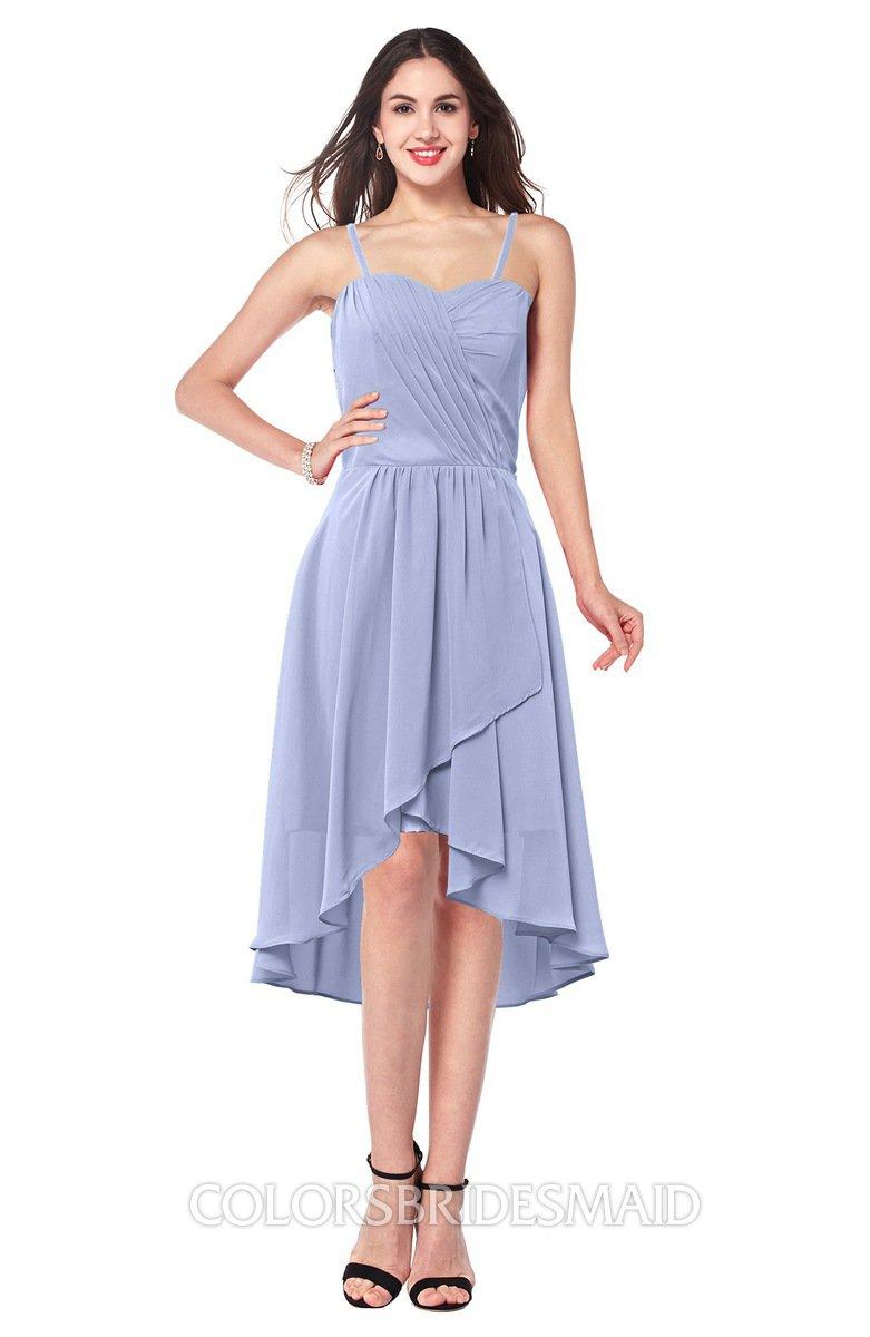 c087be88d3d2 ColsBM Lavern Lavender Bridesmaid Dresses Sleeveless Asymmetric Ruching A- line Elegant Sweetheart