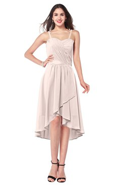 ColsBM Lavern Silver Peony Bridesmaid Dresses Sleeveless Asymmetric Ruching A-line Elegant Sweetheart