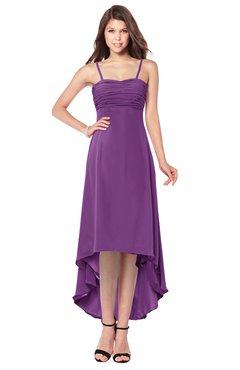 ColsBM Audley Dahlia Bridesmaid Dresses Sleeveless Hi-Lo Gorgeous Spaghetti Pick up A-line