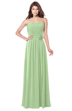 ColsBM Wisdom Gleam Bridesmaid Dresses Sleeveless Pick up Sexy Strapless A-line Zip up