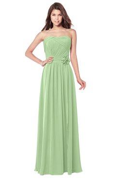 ColsBM Wisdom Gleam Bridesmaid Dresses Sleeveless Pick up Sexy Strapless A-line Zip up