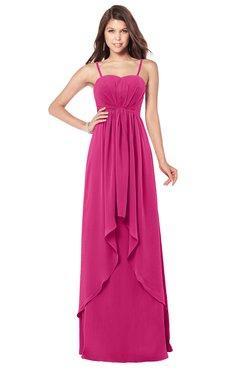 ColsBM Franny Cabaret Bridesmaid Dresses Sweetheart Elegant Sleeveless A-line Half Backless Floor Length