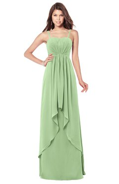 ColsBM Franny Gleam Bridesmaid Dresses Sweetheart Elegant Sleeveless A-line Half Backless Floor Length