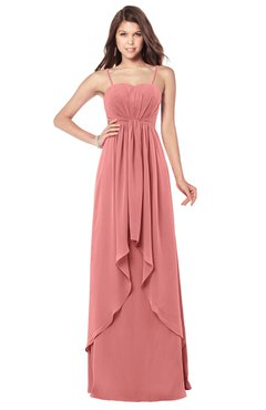 ColsBM Franny Lantana Bridesmaid Dresses Sweetheart Elegant Sleeveless A-line Half Backless Floor Length