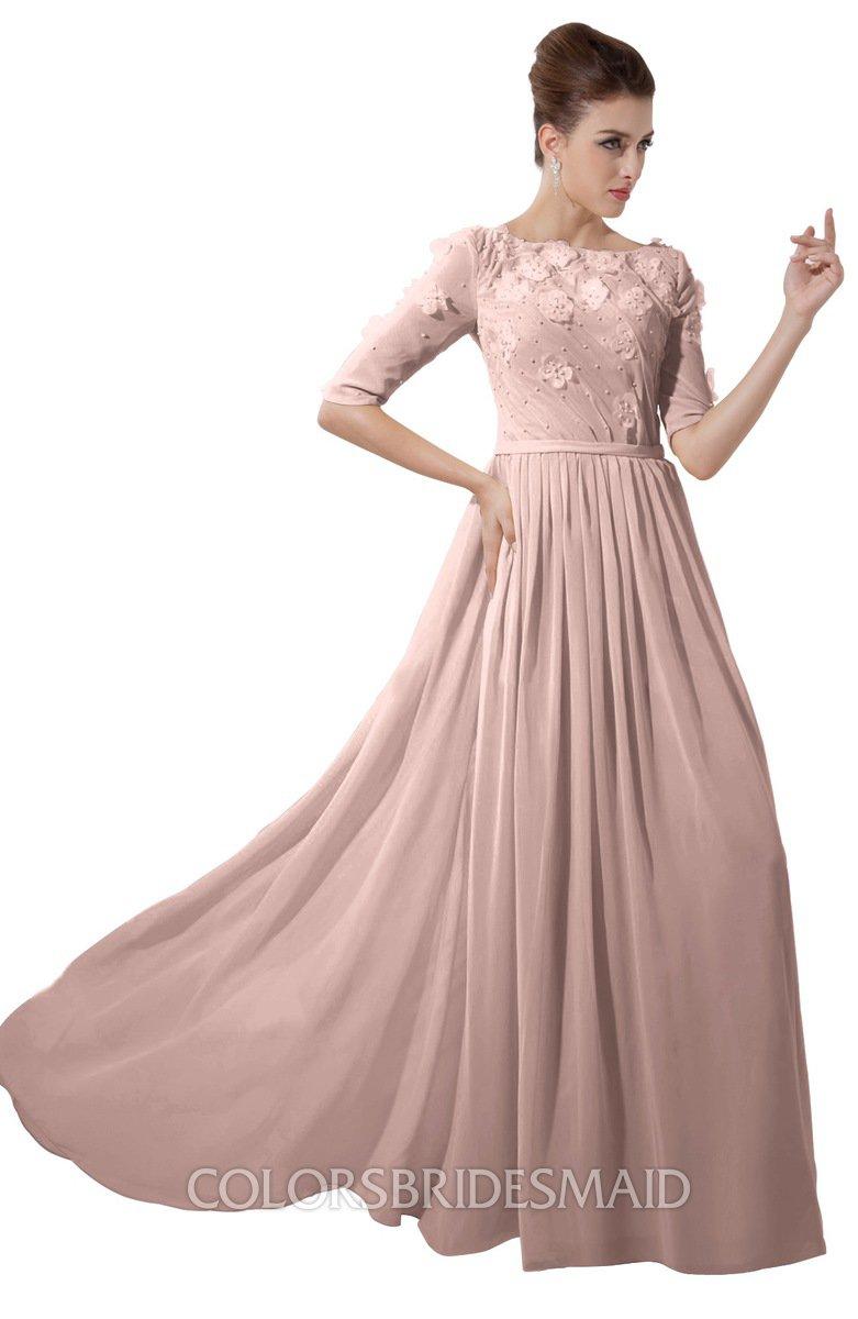 Colsbm Rene Dusty Rose Bridesmaid Dresses Colorsbridesmaid