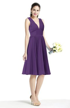 bridesmaid dresses in pansy
