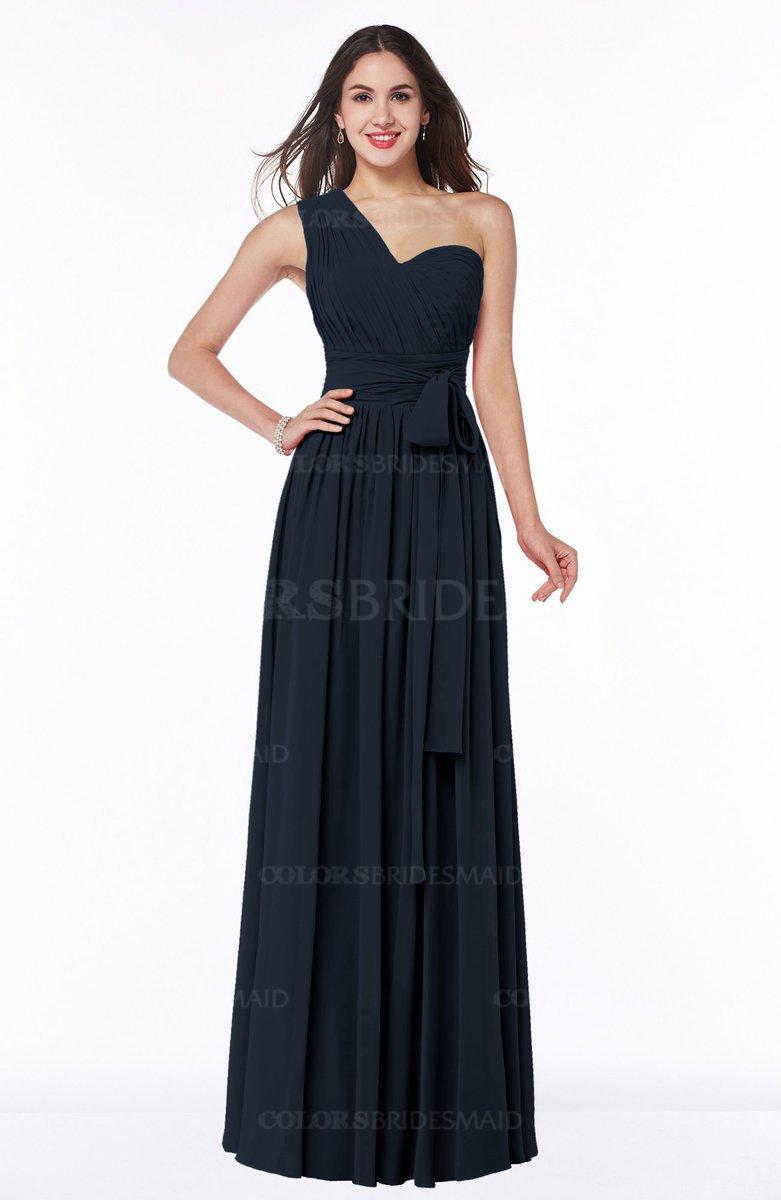 ColsBM Emmeline Navy Blue Bridesmaid Dresses ...