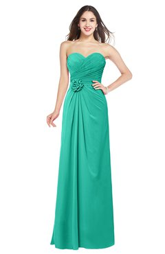 c3a244aa2c8 ColsBM Josie Ceramic Glamorous Sweetheart Sleeveless Zip up Flower Plus  Size Bridesmaid Dresses