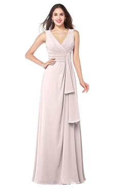 ColsBM Brenda Angel Wing Romantic Thick Straps Sleeveless Zipper Floor Length Sash Plus Size Bridesmaid Dresses