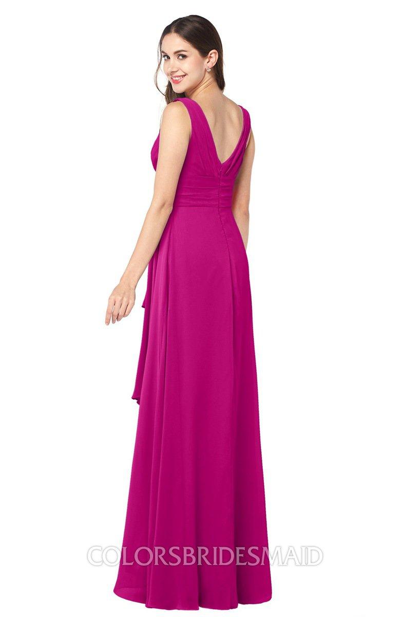 ColsBM Brenda - Hot Pink Bridesmaid Dresses