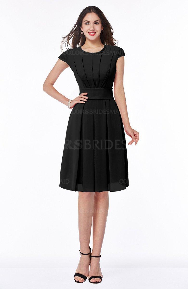ColsBM Maya - Black Bridesmaid Dresses